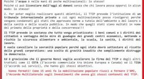 stop ttip: volantino